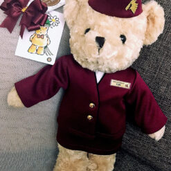 ตุ๊กตาหมี ชุดสายการบิน