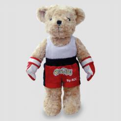 ตุ๊กตาหมี ชุดนักมวย