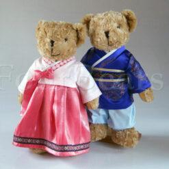 ตุ๊กตาหมี ชุดประจำชาติ
