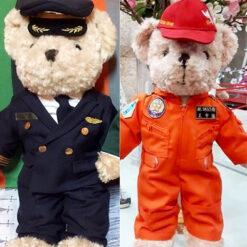 ตุ๊กตาหมี ชุดนักบิน