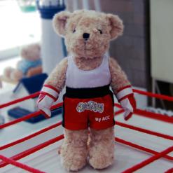 ตุ๊กตาหมี ชุดนักกีฬา