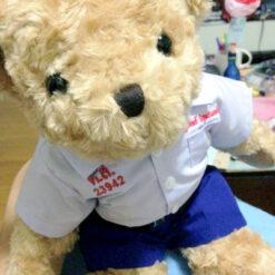 ตุ๊กตาหมี ชุดนักเรียน