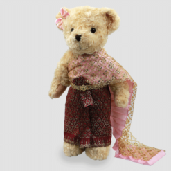 Thai-traditional-dress-teddy-bear