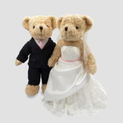 ตุ๊กตาหมี ชุดแต่งงาน