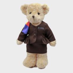 Asiana Ground Staff teddy bear